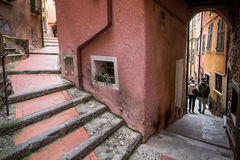 Italy, Liguria, Riviera di Levante, Tellaro Royalty Free Stock Images