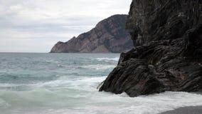 Italy, Liguriysky coast stock video