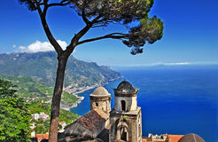 Italy litoral - Ravello fotos de stock royalty free