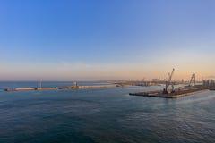 italy livorno port arkivbild
