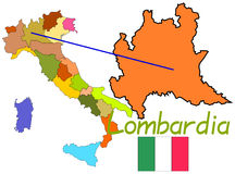 Italy, Lombardia Stock Images