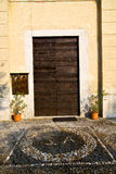 italy  lombardy     in  the capronno  old   church  closed bric Stock Images