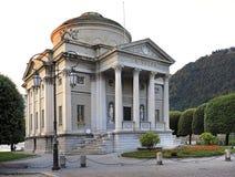 Italy - Lombardy - Como - Alessandro Volta museum  by the lake of Como. Italy, Lombardy, Como - 2012/07/08: Alessandro Volta museum  by the lake of Como at Stock Photos
