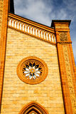 Italy  lombardy    in  the  cortese   old   church  closed bric Stock Images