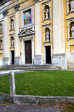 Italy  lombardy     in  the somma lombardo    church  closed br Stock Photography
