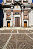 Italy  lombardy     in  the somma lombardo old   church  closed Stock Photo