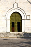Italy  lombardy    in  the varano borghi   old      closed bric Royalty Free Stock Photography
