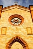 Italy lombardy  in the villa cortese church closed bric Stock Photo