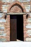 italy Lombardy w besnate zamykał ceglanego kroka Obraz Royalty Free