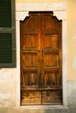 italy Lombardy w brebbia zamykał ceglanego kroka w Obrazy Stock