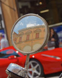 Italy through the looking glass Royalty Free Stock Photo