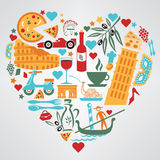 Italy Love Royalty Free Stock Images