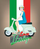 Italy love Stock Image