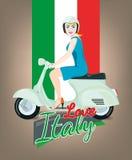Italy love Stock Image