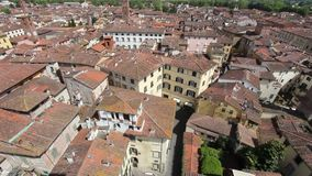 italy Lucca zbiory wideo