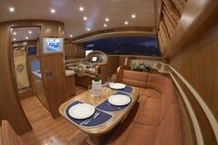 Italy, luxury yacht Rizzardi Technema 65' royalty free stock photo