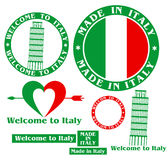 Italy. Made in Italy Stock Photography