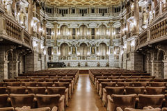 Italy: Mantova, Bibiena Theater Stock Photography