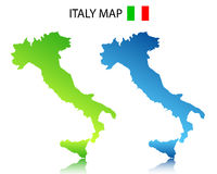 Italy map Stock Photos