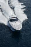 Italy, mar de Tirrenian, iate luxuoso do Aqua 54 ' Foto de Stock Royalty Free