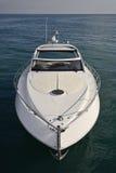 Italy, mar de Tirrenian, iate luxuoso Rizzardi 45 ' Fotografia de Stock