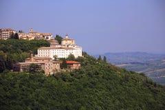Italy,Marche, Cingoli village. Royalty Free Stock Photos