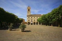 Italy,Marche, Cingoli village. Royalty Free Stock Photo