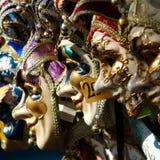 italy maskerar venetian venice Fotografering för Bildbyråer