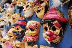 italy maskerar venetian venice Royaltyfri Bild