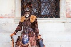 italy maskering venice Royaltyfri Fotografi