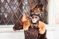 italy maskering venice Royaltyfria Bilder