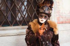 italy maskering venice Royaltyfria Foton