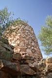 italy megalithic monumentnuraghe sardinia Royaltyfri Fotografi