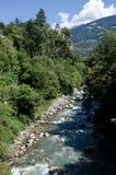 Italy merano, Passerio river Stock Image