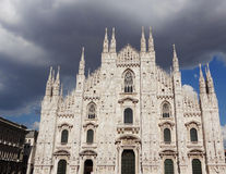 Italy - Milan - Duomo Stock Photo