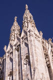 Italy, Milan Duomo cathedral wall details. Royalty Free Stock Photos