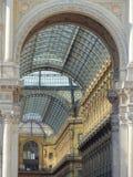 Italy - Milan - Gallery Vittorio Emmanuele II Stock Image