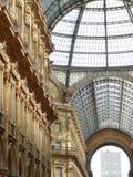 Italy - Milano - Gallery Vittorio Emmanuele II Royalty Free Stock Photo