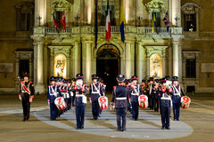 Italy military band Stock Images