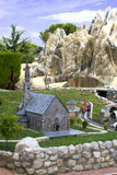 Italy in miniature, mini-Park, Rimini Stock Photos