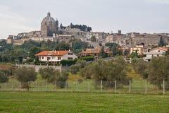 italy montefiascone tuscany Arkivbild