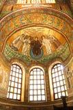italy mosaikravenna san vitale arkivbild