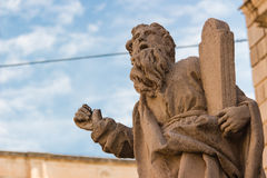 Italy: Moses' statue. Italy: Historic baroque architecture - Moses' statue Stock Photography