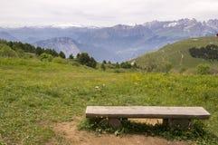 Italy, Mount Cornetto surroundings, italian Alps royalty free stock photography
