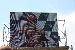 Italy,Mugello,the winner is Pedrosa Stock Images