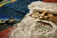 Santa claus in florence italy XII