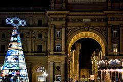 Santa claus in florence italy XIII