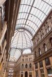 Italy. Naples. Gallery Umberto- century public gallery Stock Image