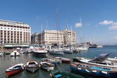 Italy, Naples, Mergellina port Royalty Free Stock Photos