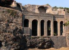 Italy Naples Roman ruins of Pompeii Stock Image